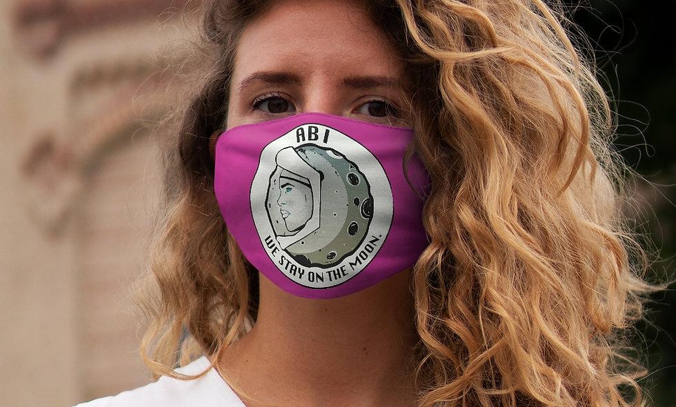 Snug-Fit  ABI LOGO Face Mask (pink)