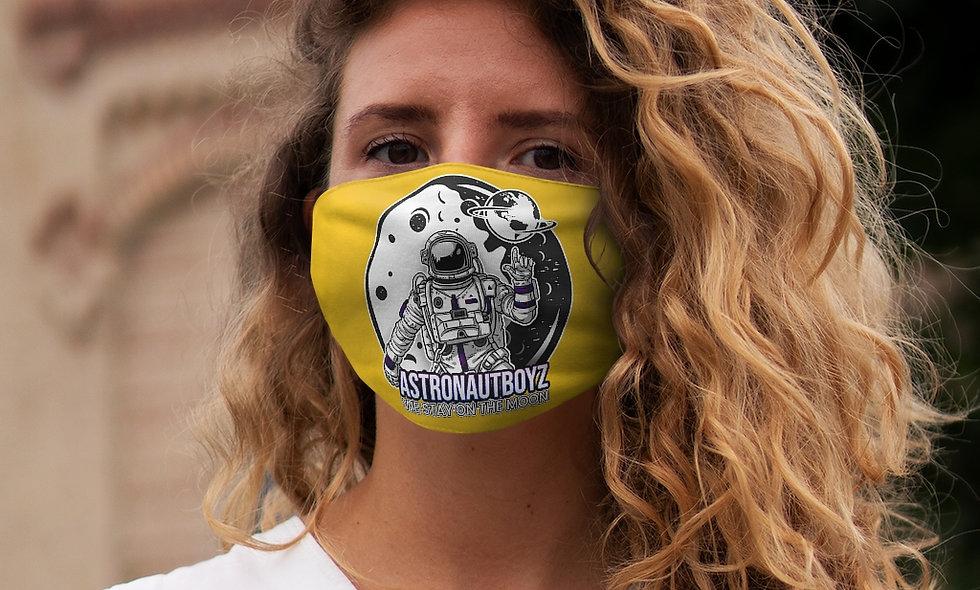 Snug-Fit ABI LOGO 2 Face Mask (yellow)