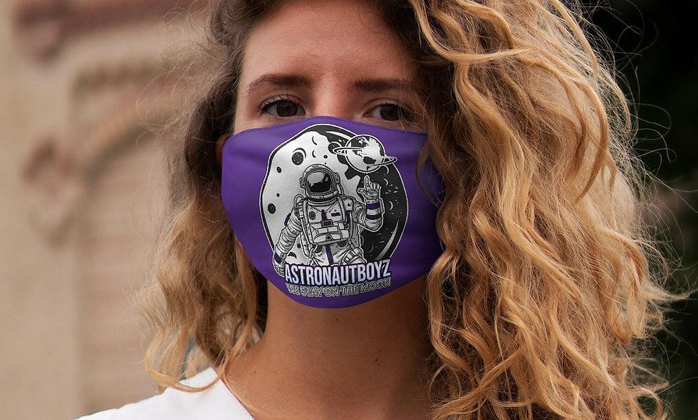 Snug-Fit  ABI LOGO 2 Face Mask (purple)