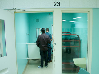 Filming in the SF County Jail