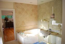 Custom Marble bath area