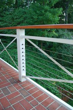 unique railing