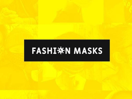 Estamos participando do movimento Fashion Masks.