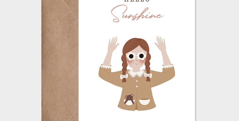 Carte postale - Postcard - Hello Sunshine / R