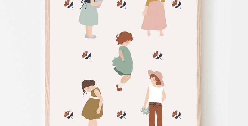 Affiche - Poster - Lovely Girls