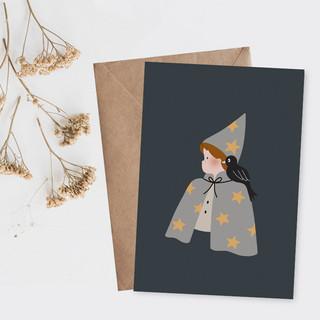 SI-photo-1---Le-petit-magicien---157x109---photo-carte-postale-Halloween-harry-potter-magi