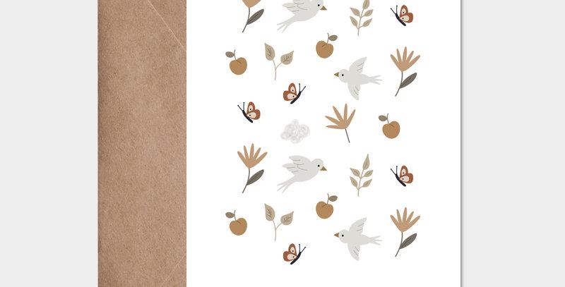 Carte postale - Postcard - Les beaux jours / R