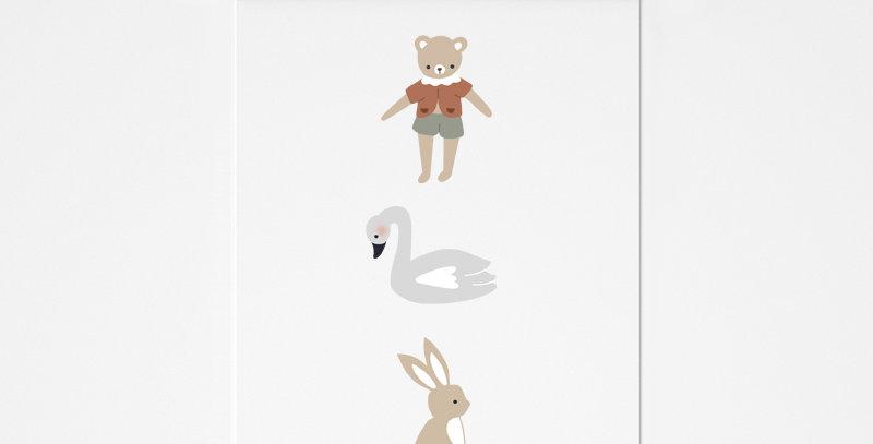 Affichette - Little Poster - Friends compagnie 5