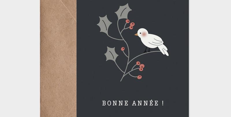 Carte postale - Postcard - Cui Cui bonne année  / R