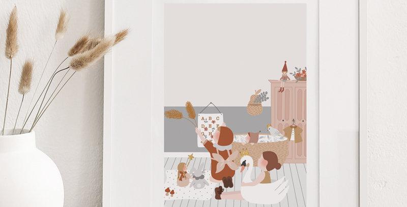 Affiche - Poster - Chambre d'enfant