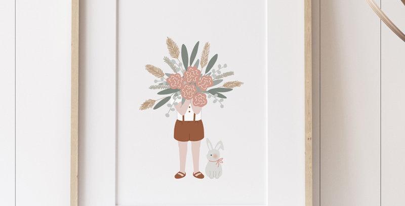 Affiche - Poster - Le gros bouquet
