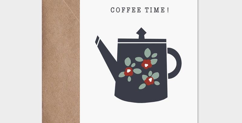 Carte postale - Post card - Coffee Time !