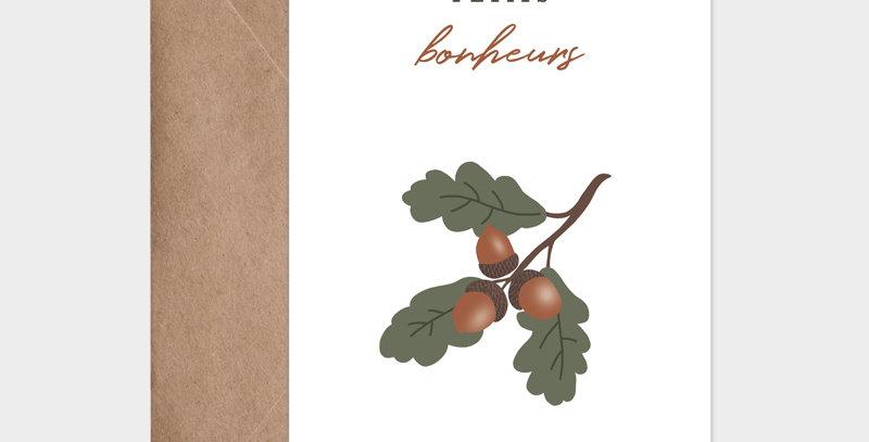 Carte postale - Postcard - Fruit de saison Poire / R