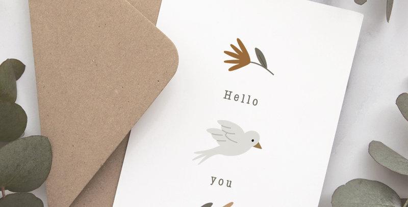 Carte postale - Post card - Un air de printemps