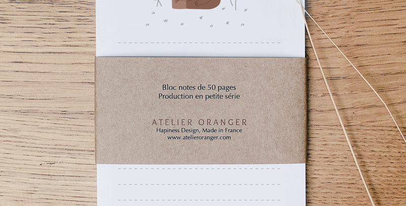 Bloc-notes - Notepad - Happy together