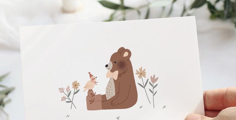 Carte postale - Postcard - Happy Together