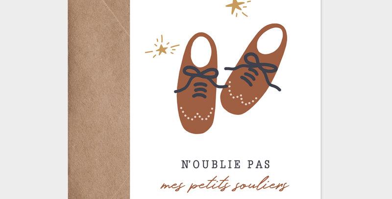 Carte postale - Postcard - Mes petits souliers  / R