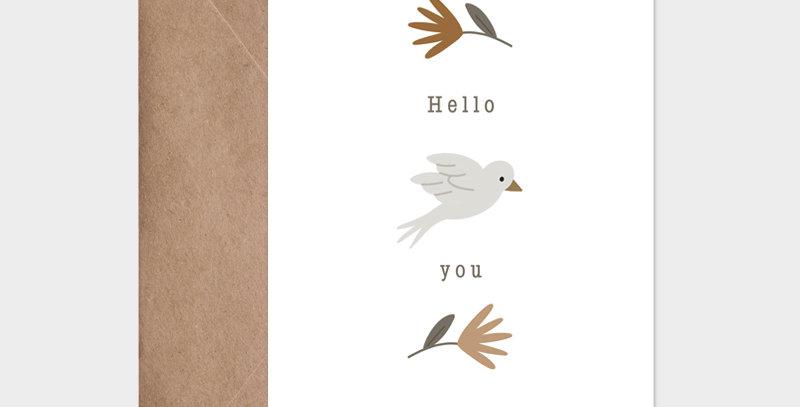 Carte postale - Postcard - Un air de printemps / R