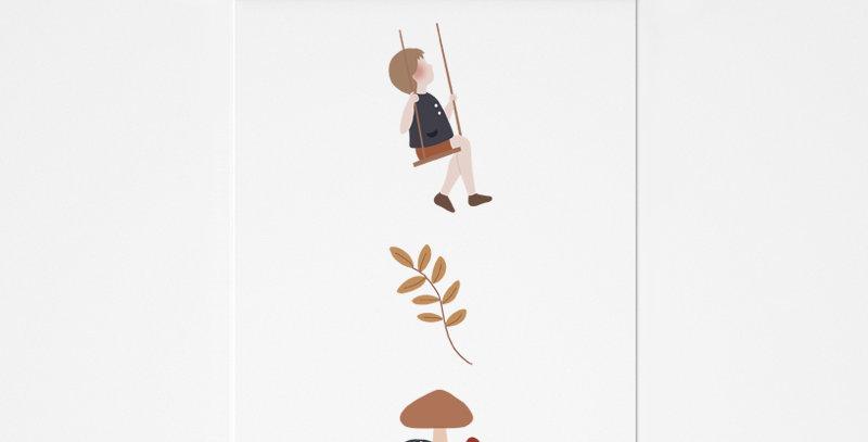 Affichette - Little Poster - Friends compagnie 6 / R