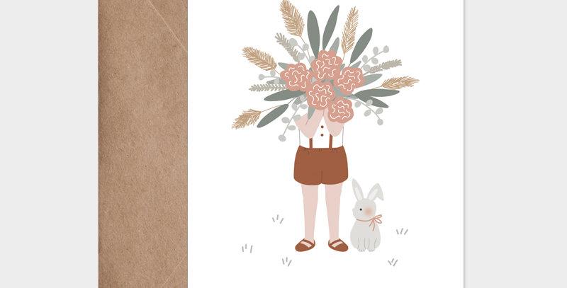 Carte postale - Postcard - Le gros bouquet / R