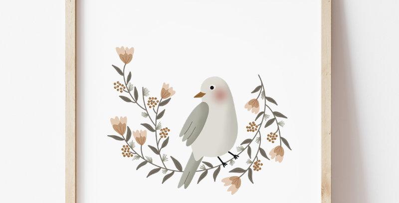 Affiche - Poster - La couronne de l'oiseau