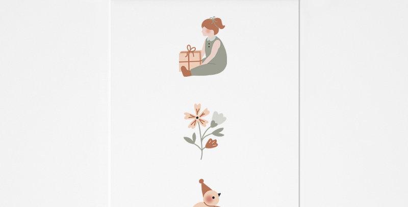 Affichette - Little Poster - Friends compagnie 4
