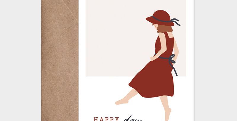 Carte postale - Post card - Happy day