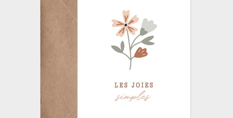 Carte postale - Postcard - Les joies simples / R