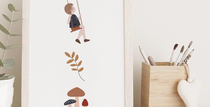 Affichette - Little Poster - Friends compagnie 6