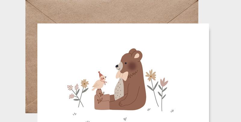 Carte postale - Postcard - Happy together / R
