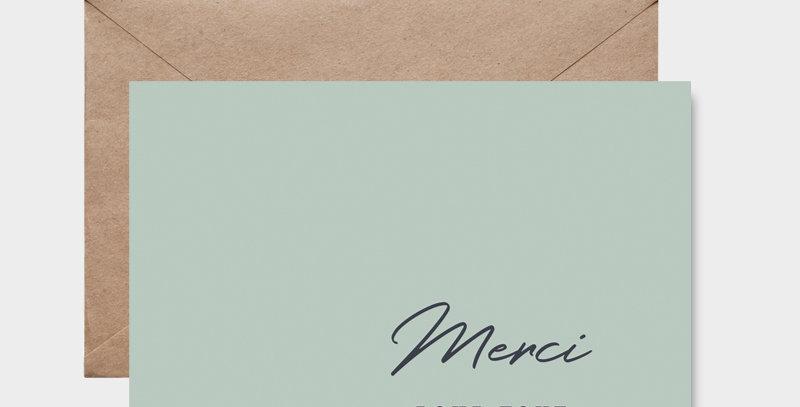 Carte postale - Post card - Merci pour tout 1