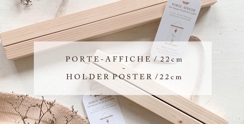 Lot de 5 Porte-affiches 22 cm - Batch of 5 Holder Poster 22 cm / R