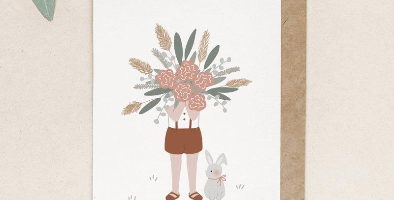 Carte postale - Post card - Le gros bouquet