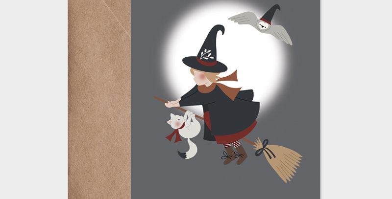 Carte postale - Postcard - Ma petite sorcière bien aimée / R