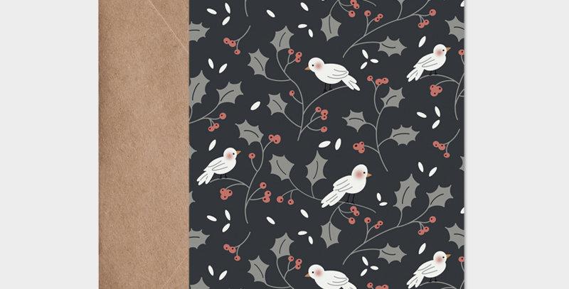 Carte postale - Postcard - Christmas bird  / R