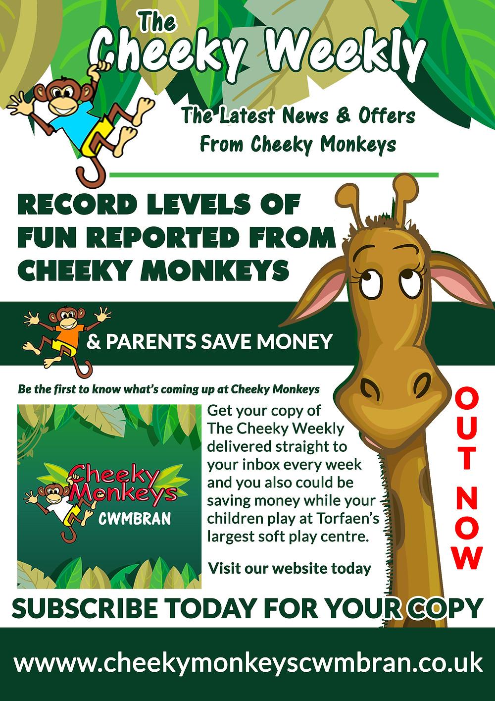 Cheeky Monkeys Cwmbran