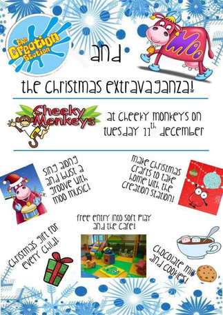 Come along and join The Creation Station and Moo Music Christmas Extravaganza!!!