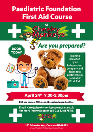 Are you looking to gain a paediatric first aid qualification??