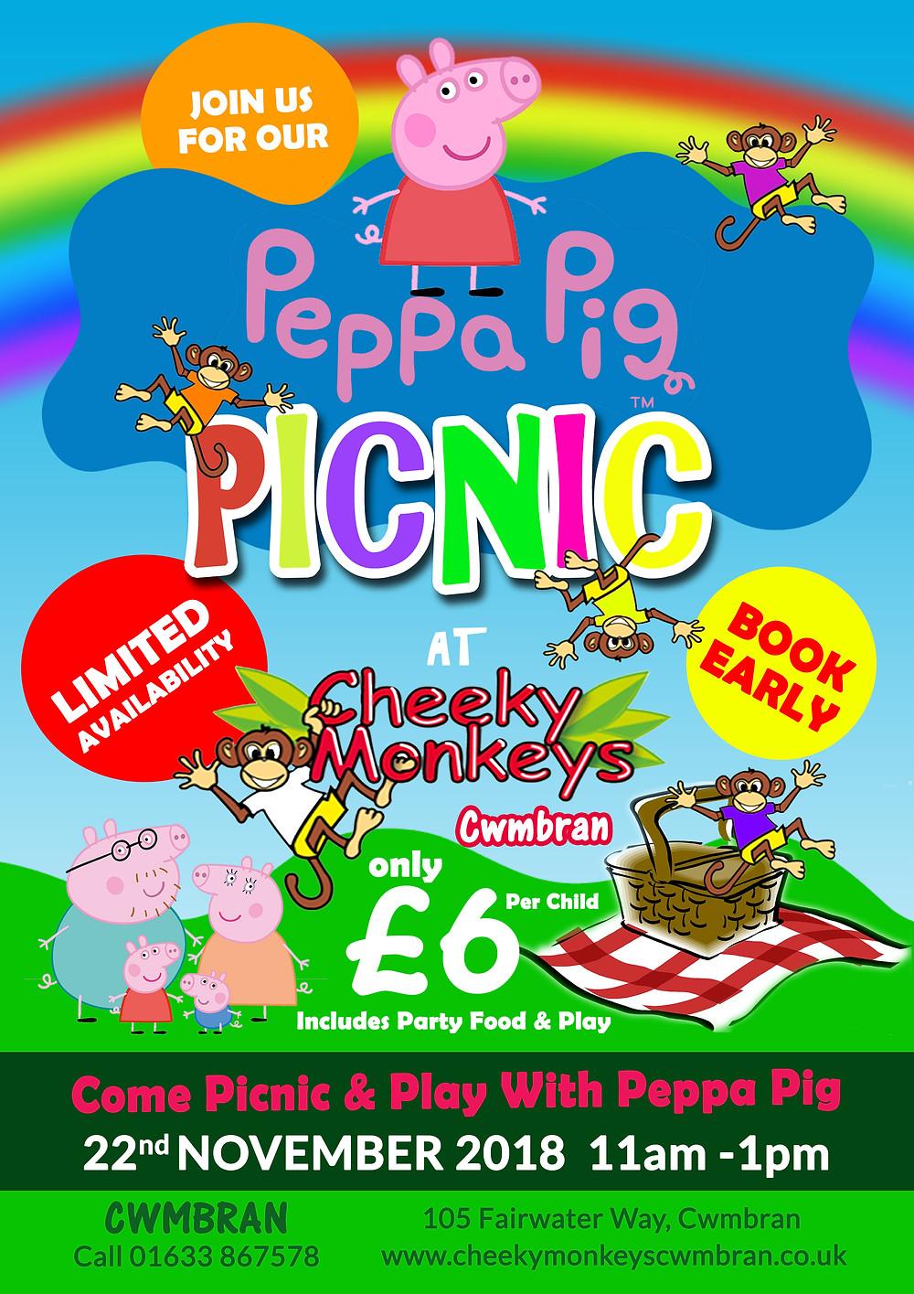 Peppa Pig Cheeky Monkeys