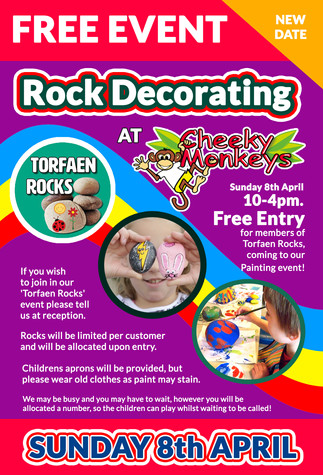 Free Rock Decorating Event