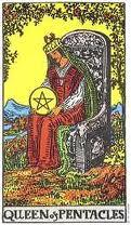 De Gehangene, De Maan en Koningin van Pentakels