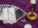 tarotkaarten Aas van staven