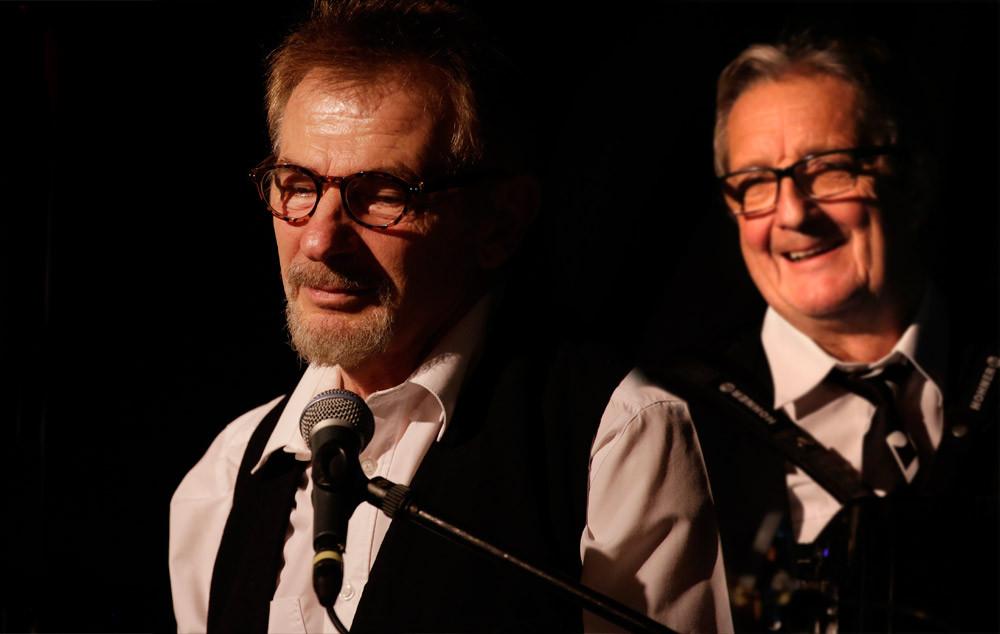 Jean Duris et Bernard Guillier - Spectacle des Guinguettes