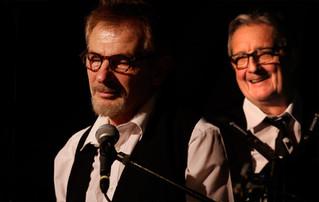 Le 23 juin 2018 à l'Antiseiche, Jean et Bernard jouent les chansons des Guinguettes des bords de