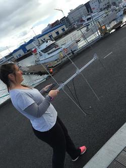 Kat testing VHF tracking