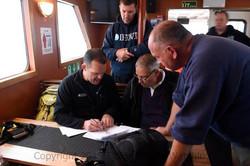 Discussing rescue plans