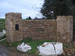 sandstone wall Dublin