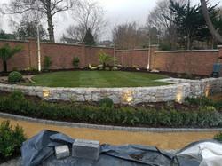 Granite wall, Foxrock, Co.Dublin