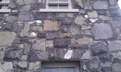 Limestone house in Dublin