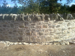 Lime mortar joint wall in Dublin